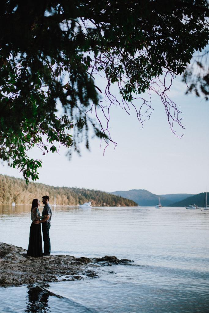 Coles Bay Engagement Photos