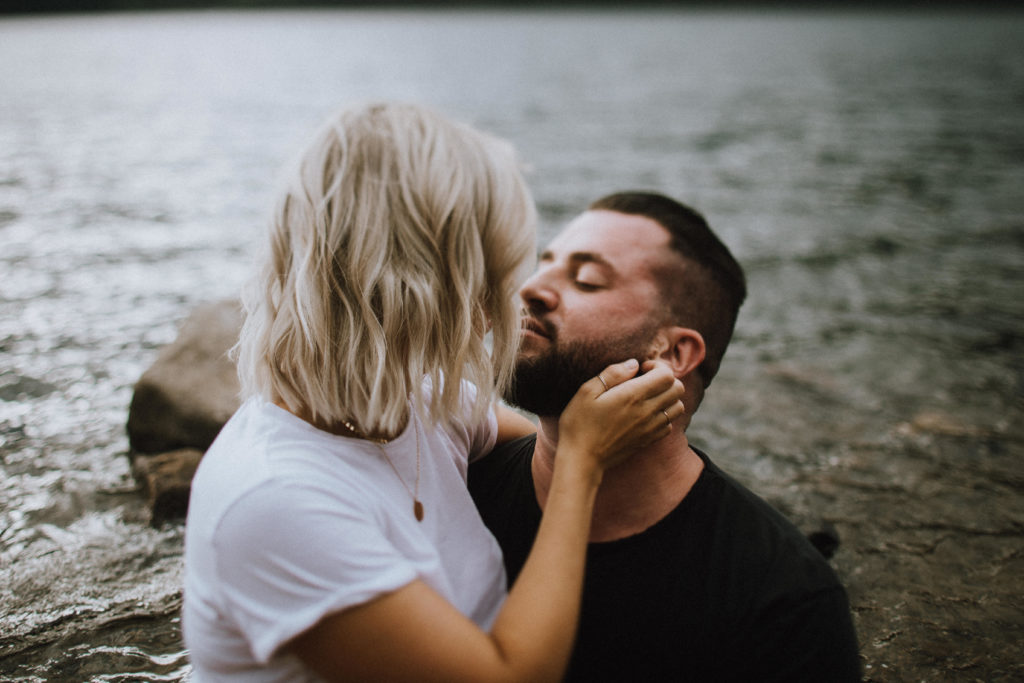 Jones Lake Couples session