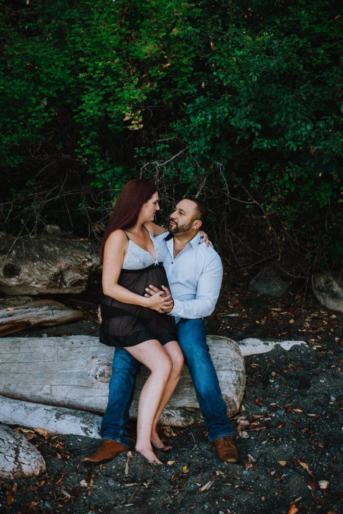 Glenco Cove maternity photo